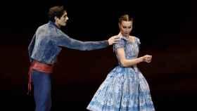 Un momento del pase gráfico del espectáculo 'Giselle'.
