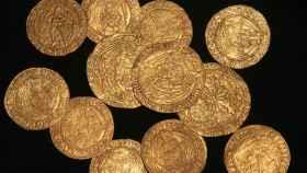 Las monedas de oro de la dinastía Tudor.