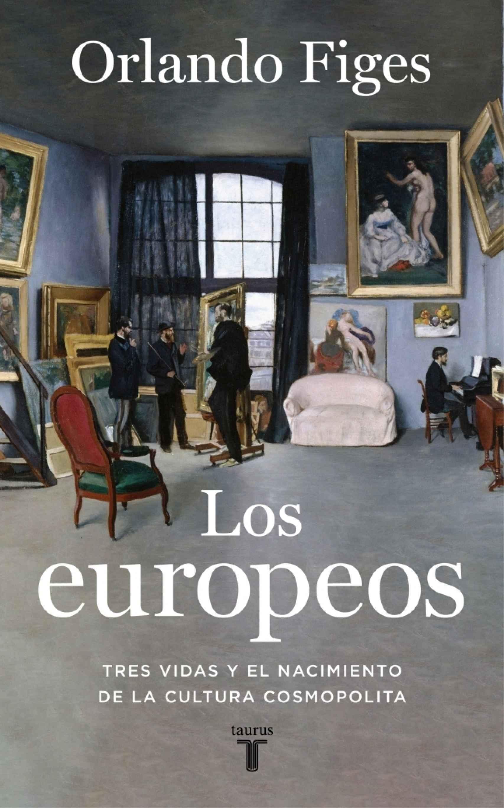 Portada de 'Los europeos'.
