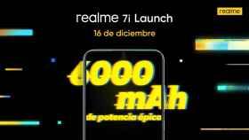 El realme 7i ya tiene fecha de presentación en España