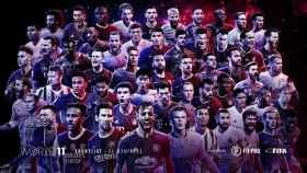 Los 55 nominados para el once mundial de FIFPro y FIFA