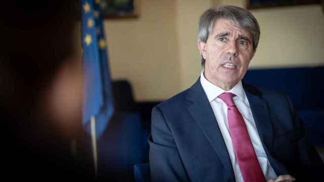El consejero de Transportes de la Comunidad de Madrid, Ángel Garrido.