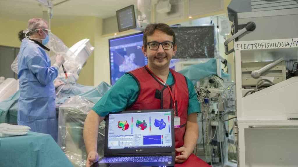 El investigador español Andreu Climent, uno de los ganadores de los EIT Awards.