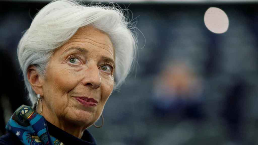 La presidenta del Banco Central Europeo, Christine Lagarde.