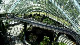 Un edificio de oficinas sostenible.