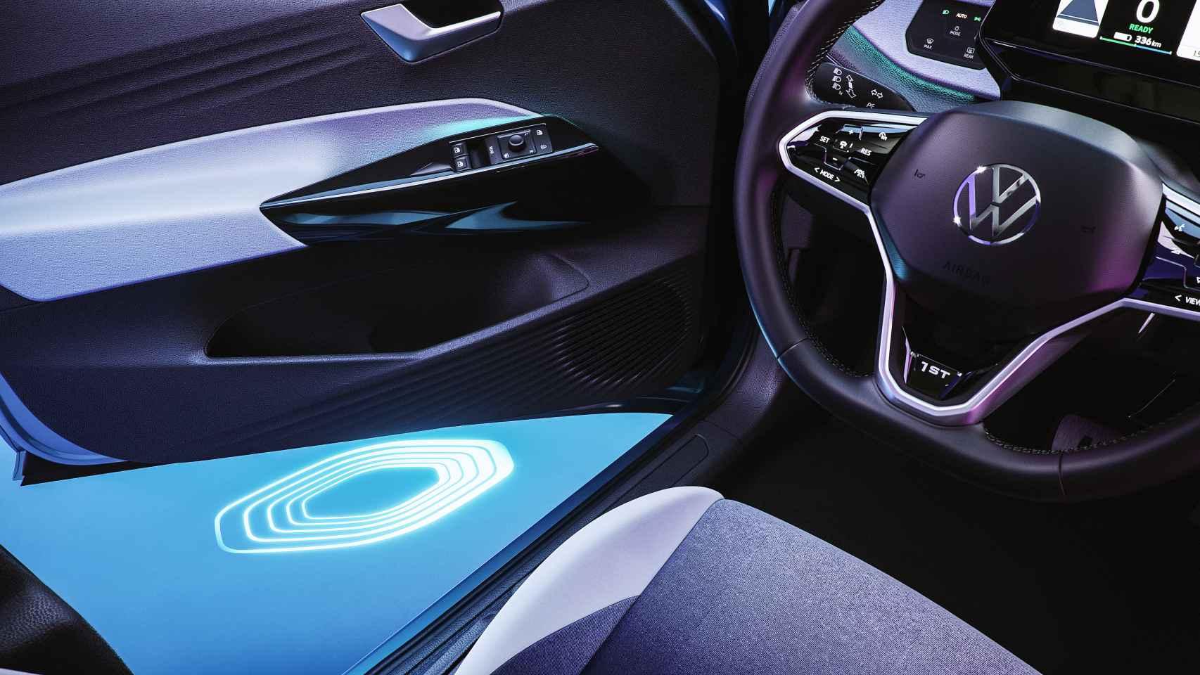 Imagen del interior del VW ID.3