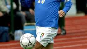 FILE PHOTO: ITALIAN SOCCER LEGEND PAOLO ROSSI CONTROLS THE BALL IN SOFIA