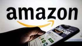 Un consumidor comprando en Amazon.