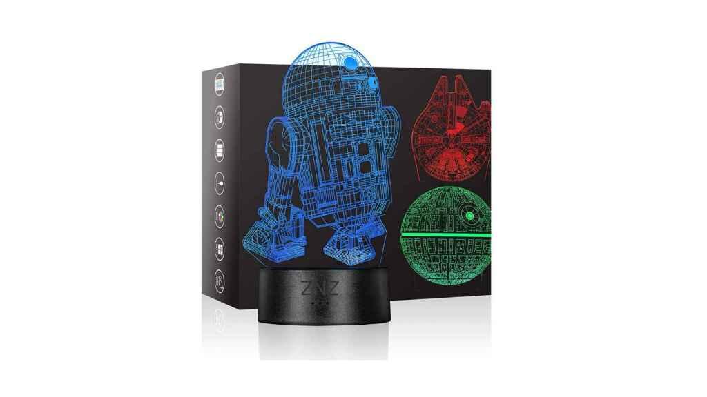 Lámpara 3D de Star Wars