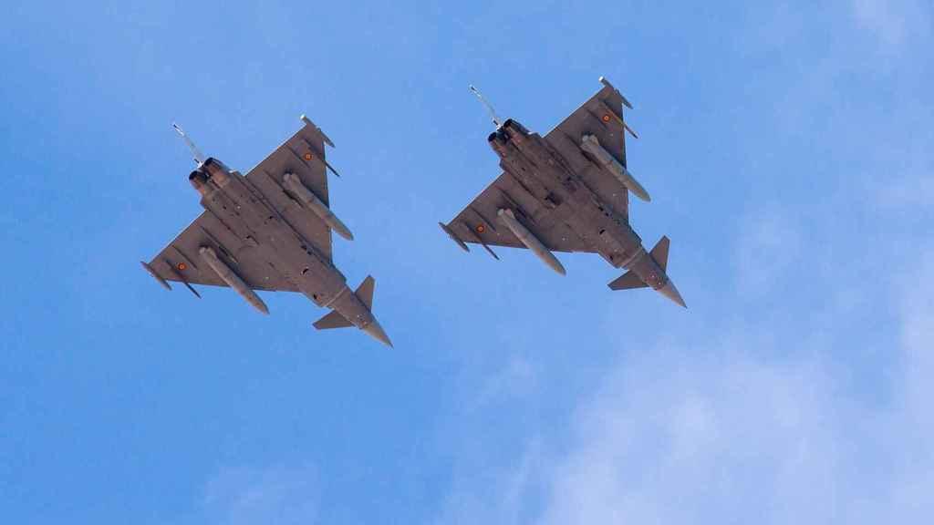 Eurofighter en formación