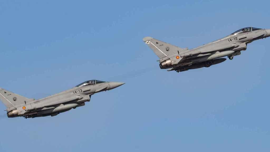 Eurofighter Typhoon en formación