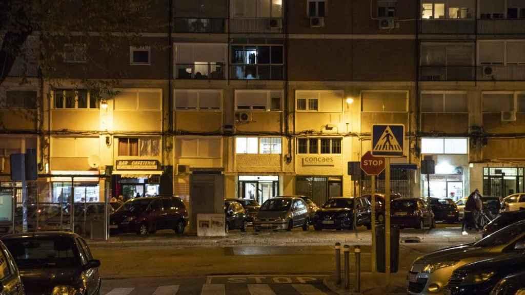 La sede de CONCAES a la que acude Rodrigo Rato se encuentra en el barrio madrileño de El Pilar.