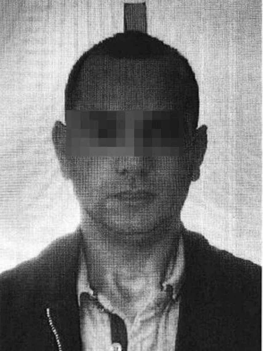 El presunto traficante marroquí, Abdellah M.