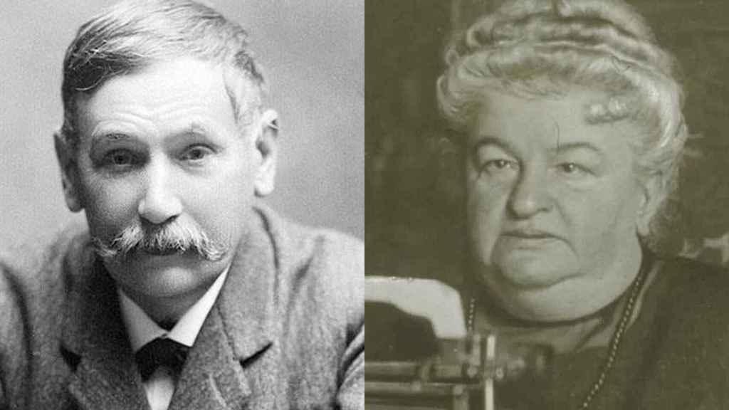 Galdós y Emilia Pardo Bazán.