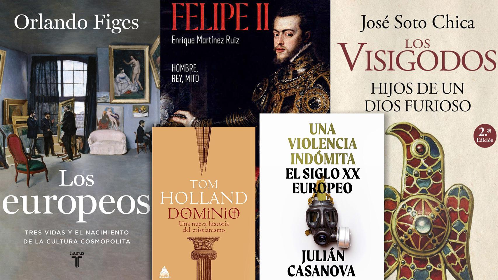 Algunos de los mejores libros de Historia de 2020.