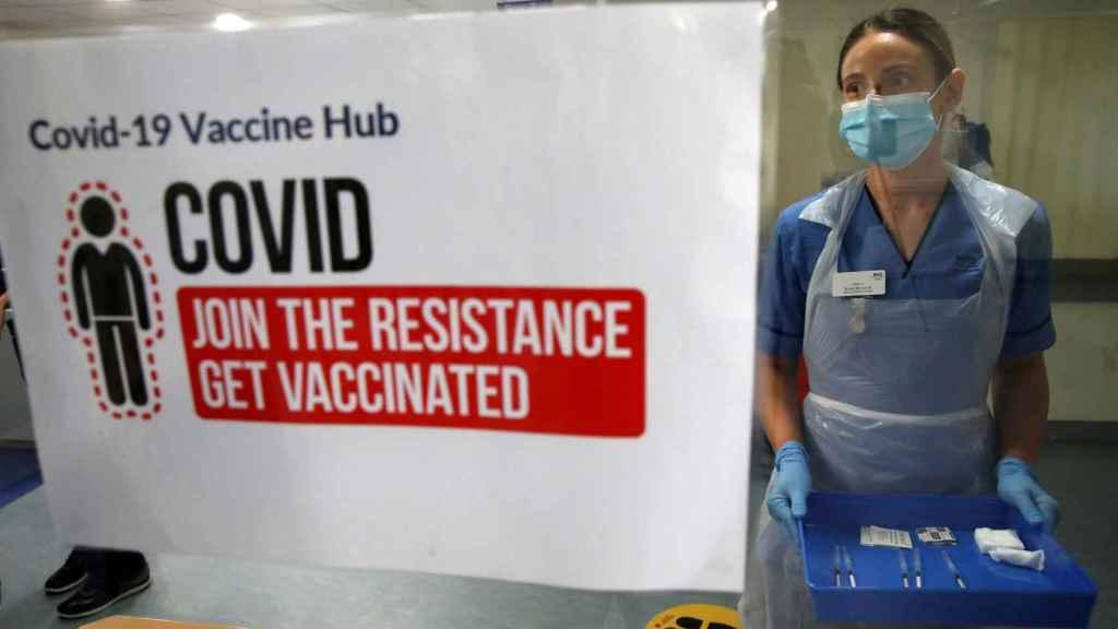Vacunación contra la Covid-19 en Reino Unido.