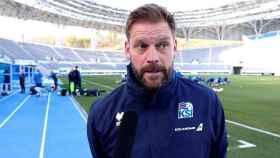 Jón Thór Hauksson, seleccionador islandés de fútbol femenino