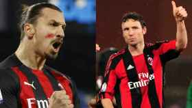 Ibrahimovic y Van Bommel