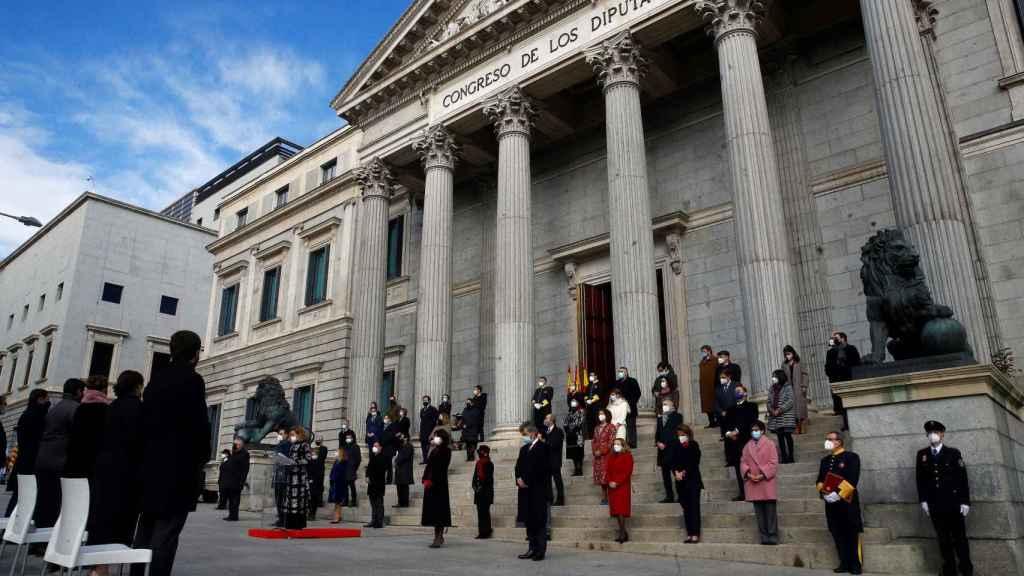El Congreso de los Diputados, durante el reciente aniversario de la Constitución.