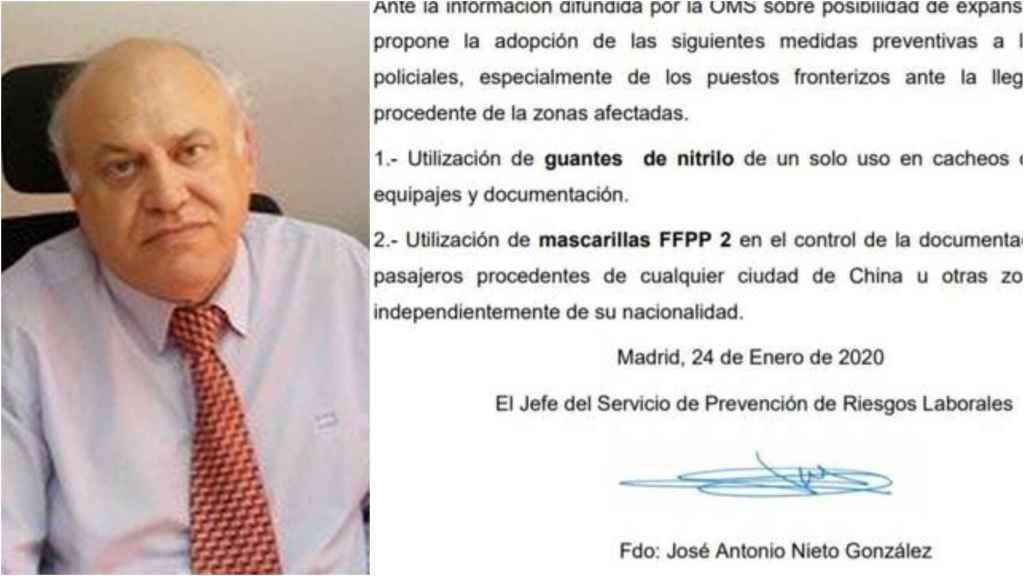 El documento que le costó la destitución al agente de la Policía Nacional.