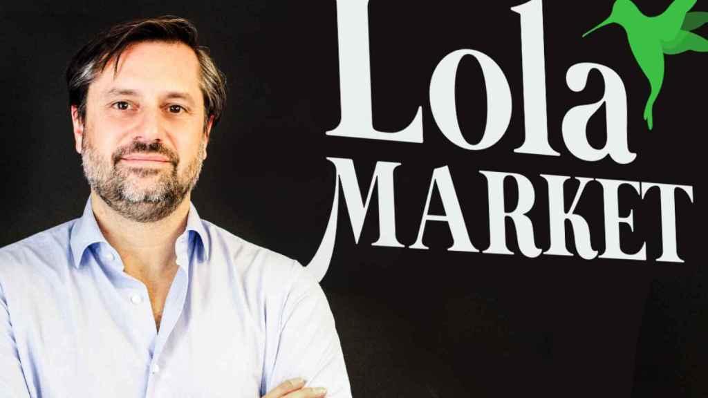 Director general y fundador Lola Market, Luis Pérez del Val.