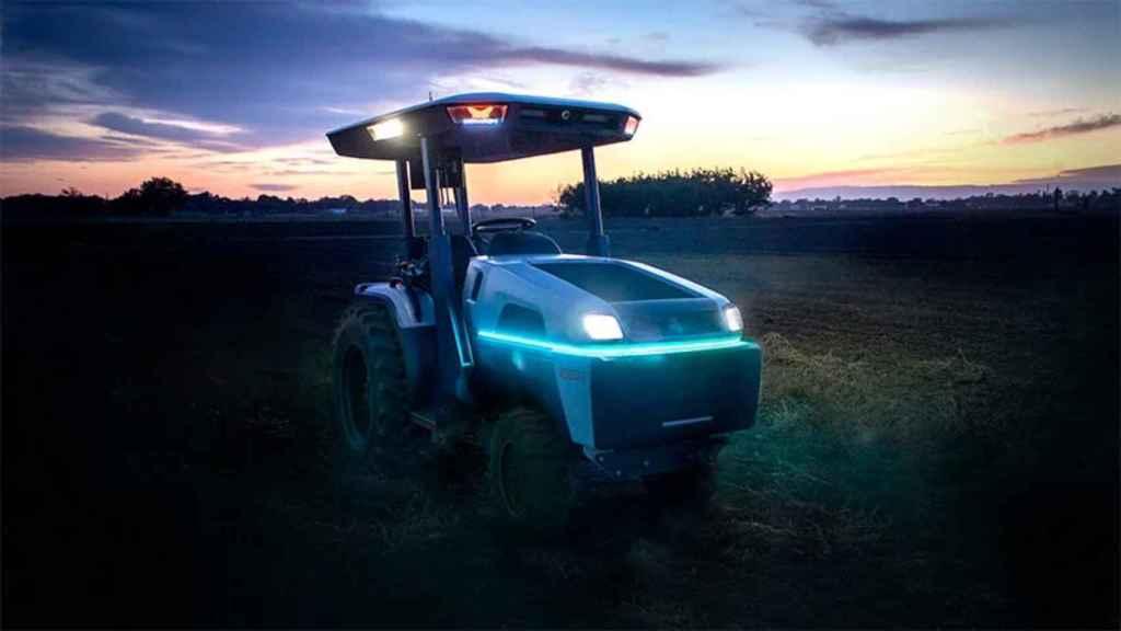El Monarch Tractor es un vehículo seguro e inteligente.