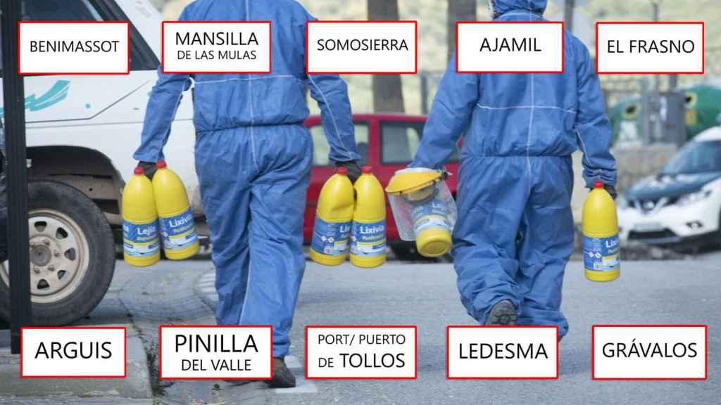 Los 457 pueblos de España libres de coronavirus.