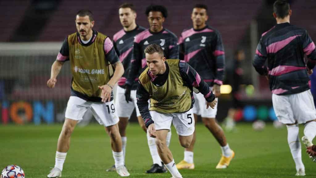 Arthur Melo, con la Juventus
