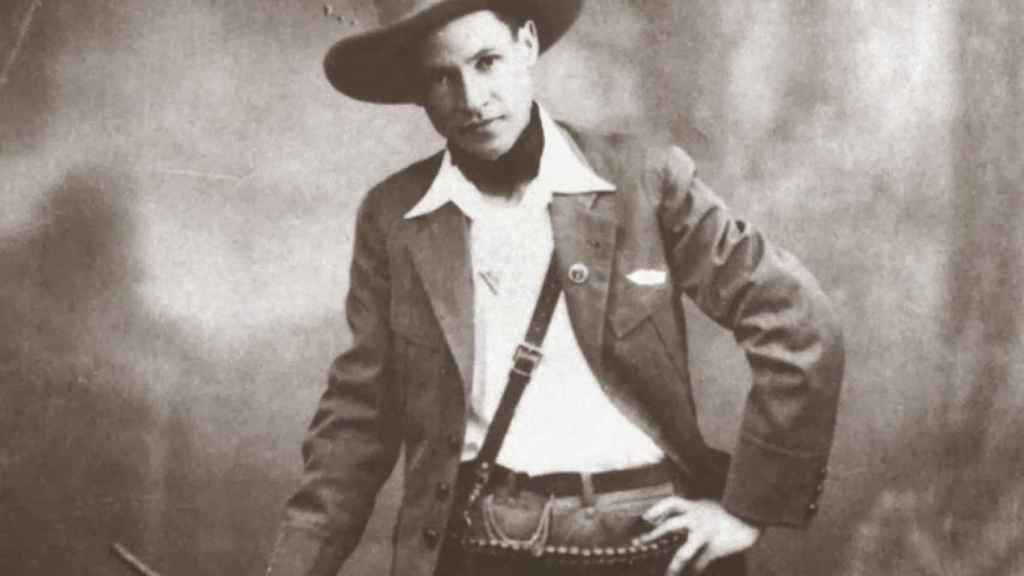 Augusto Sandino, el revolucionario nicaragüense.