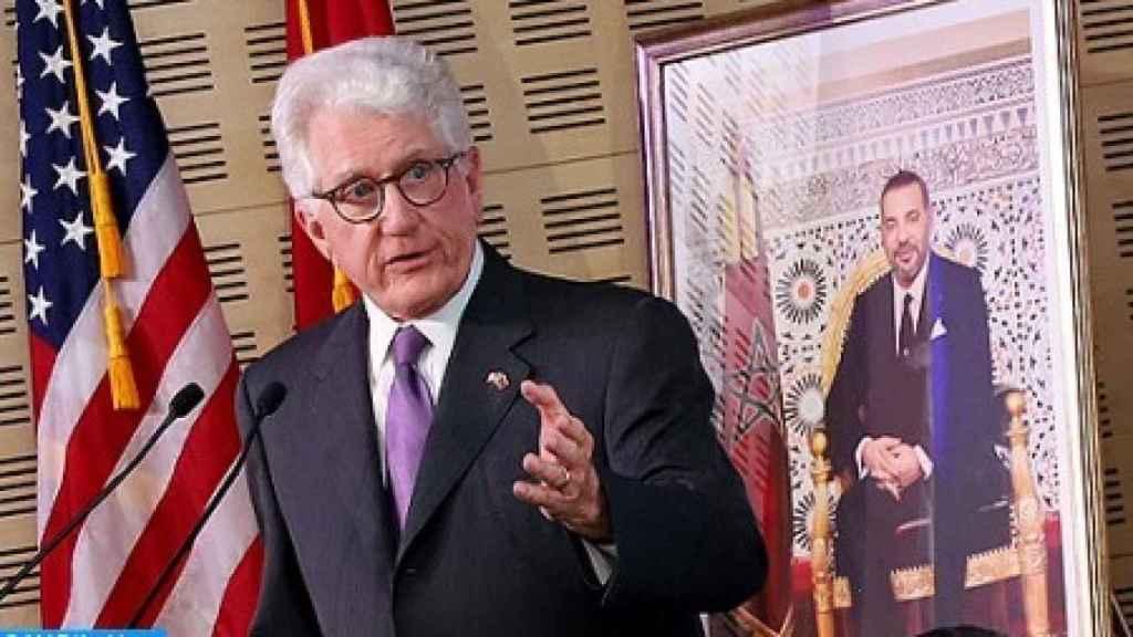 David Fischer, embajador de Estados Unidos en Marruecos.