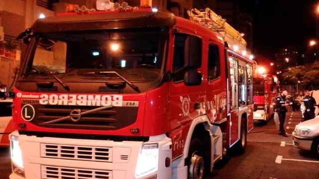 Un camión de bomberos, en una imagen del archivo.