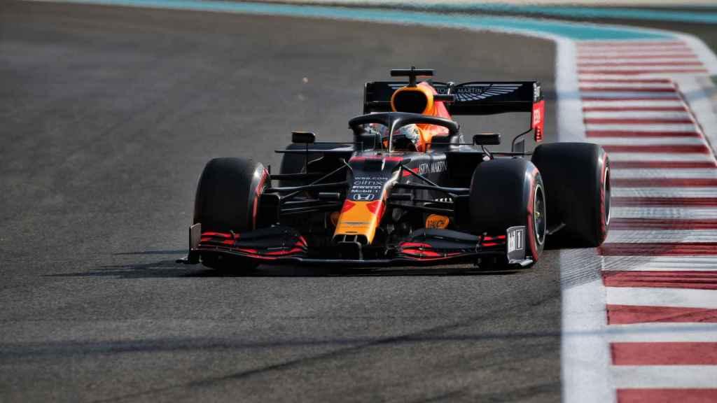 Max Verstappen, en el GP de Abu Dhabi