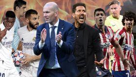 Los duelos que definirán el derbi madrileño