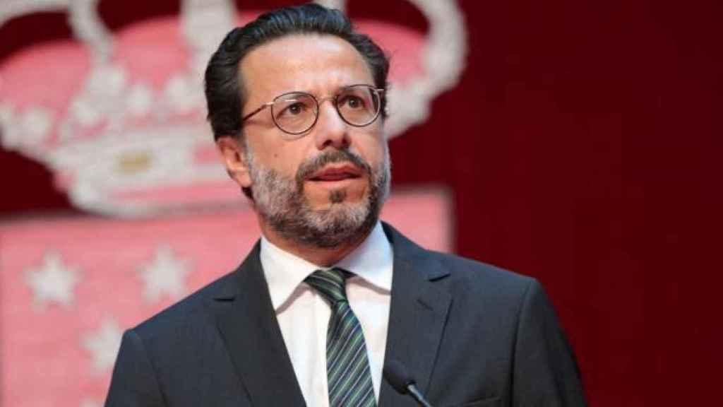 El consejero madrileño de Economía, Hacienda y Empleo, Javier Fernández-Lasquetty.