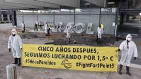 Rebelión por el Clima denuncia la inacción de Gobiernos y empresas con manifestaciones