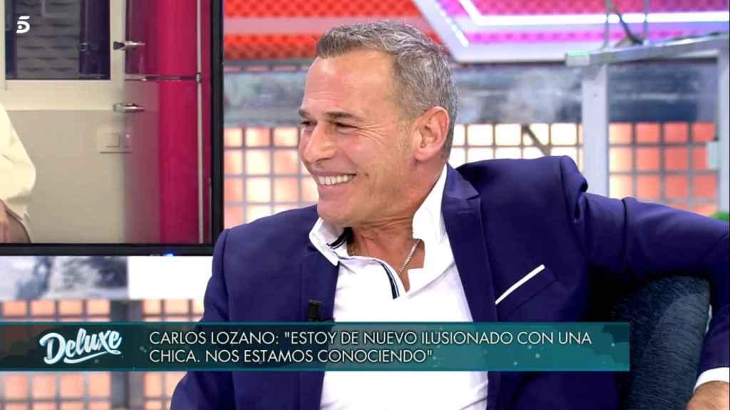 Carlos Lozano, en 'Sábado Deluxe'.