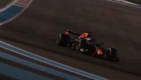 Max Verstappen, en el Gran Premio de Abu Dhabi 2020