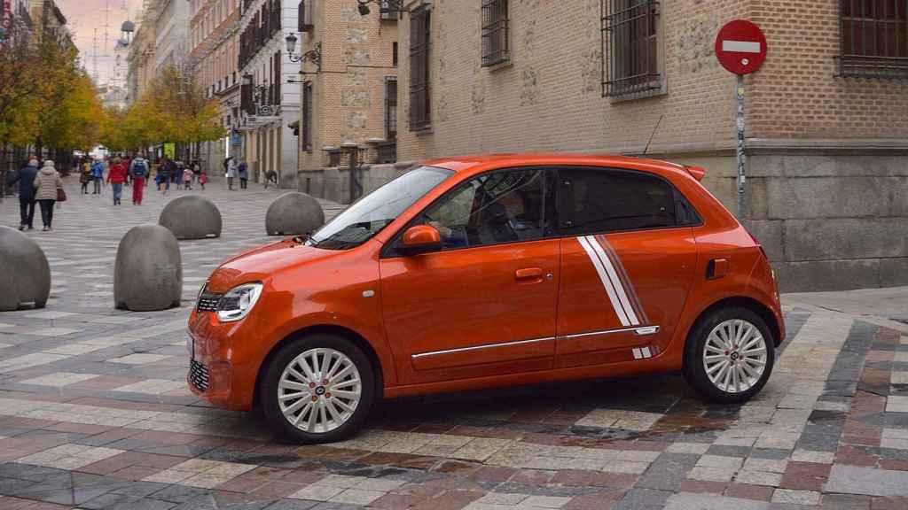 Zona restringida al tráfico donde sí puede circular el Renault Twingo.