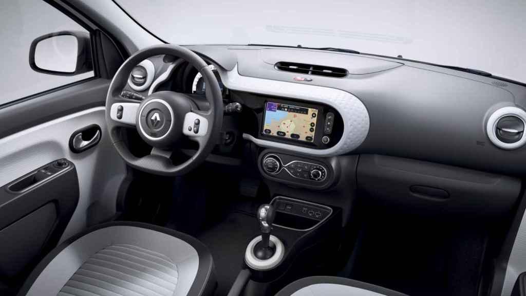 Interior del Renault Twingo.