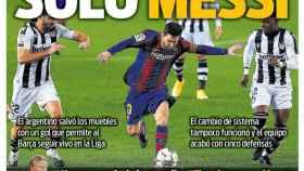 La portada del diario SPORT (14/12/2020)