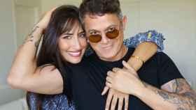 Rachel Valdés y Alejandro Sanz, en una fotografía compartida en sus redes sociales.