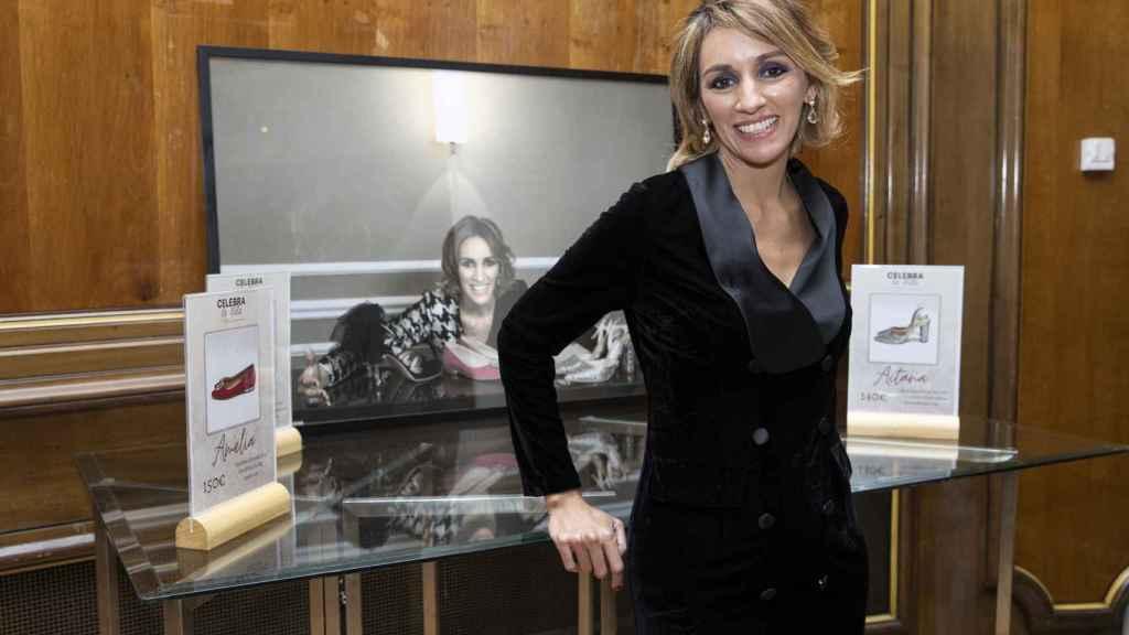 Beatriz Tajuelo durante la presentación de su nuevo proyecto, 'Celebra la vida'.