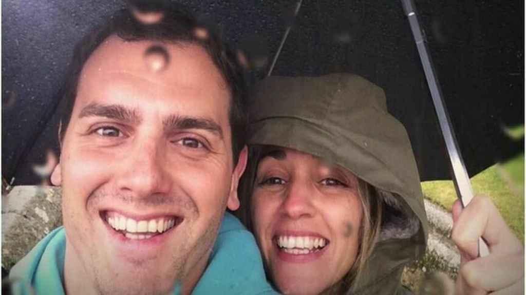 Albert Rivera y Beatriz Tajuelo en una imagen de redes sociales.