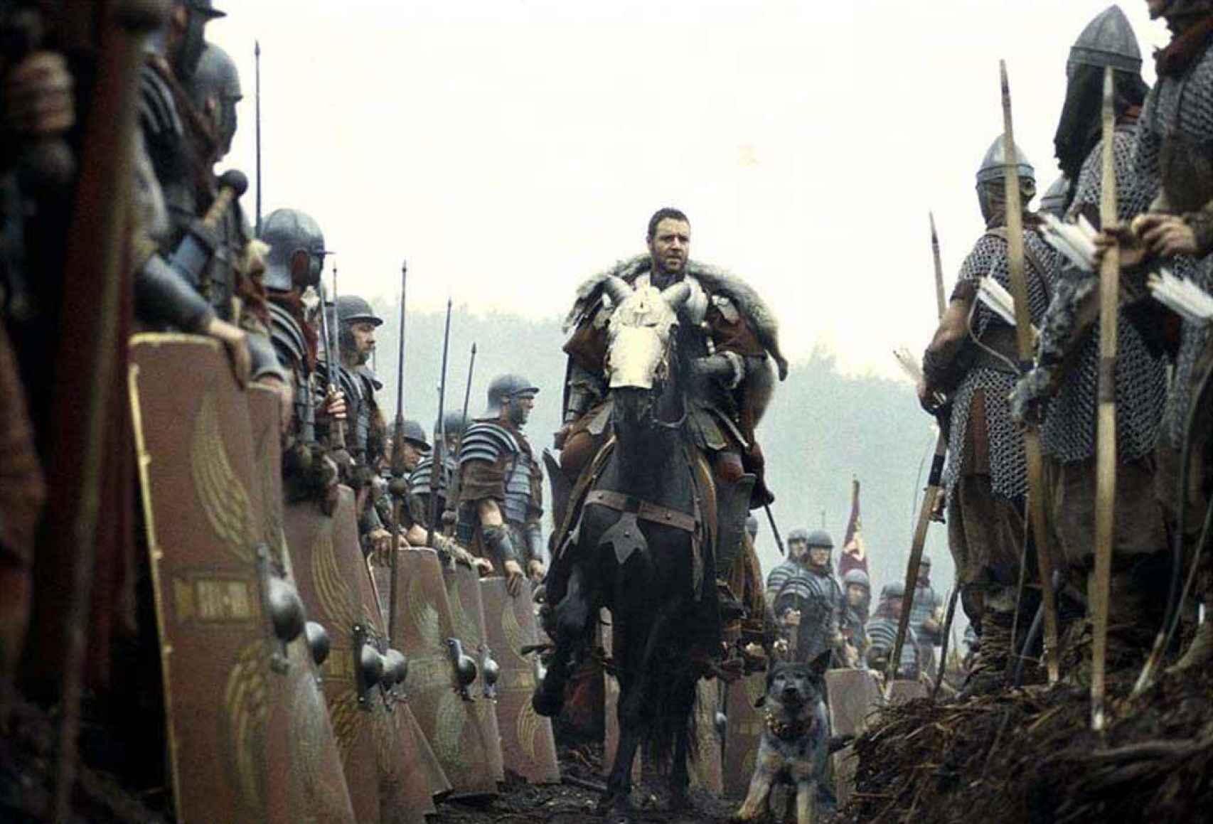 Fotograma de la película 'Gladiator'.