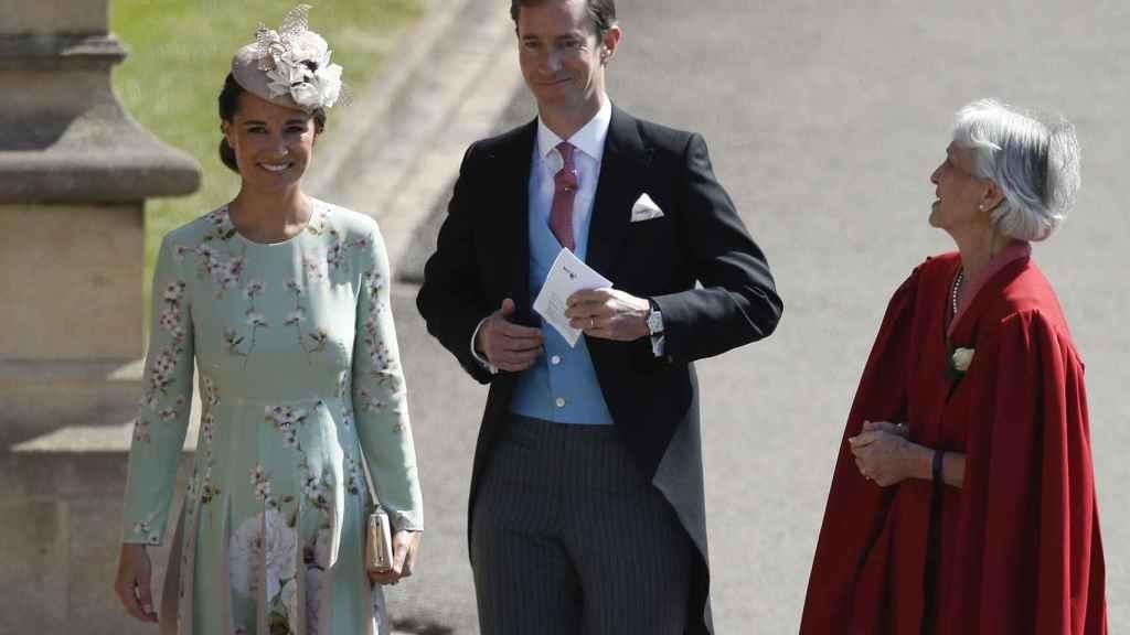 Pippa Middleton junto a su marido Pippa Middleton en una imagen de archivo.