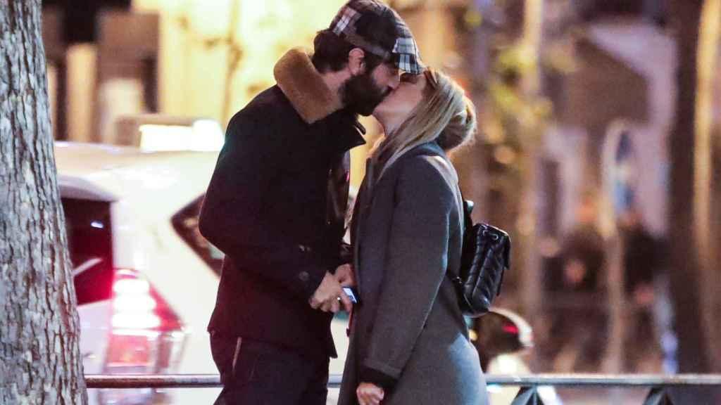 La actriz no ha aclarado si pasará las fiestas con Javier Rey.