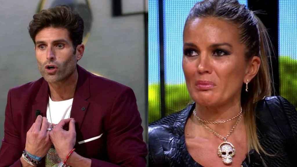Efrén Reyero y Marta López en montaje de JALEOS.