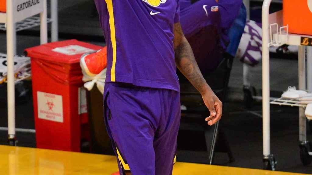LeBron James, en el estreno de Marc Gasol con Los Ángeles Lakers