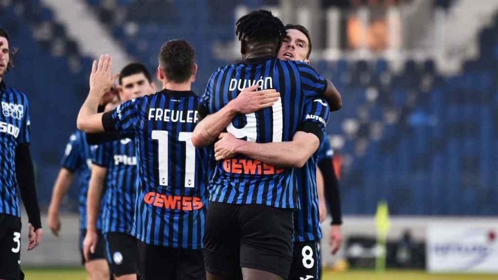 Atalanta, rival del Real Madrid en los octavos de final de la Champions