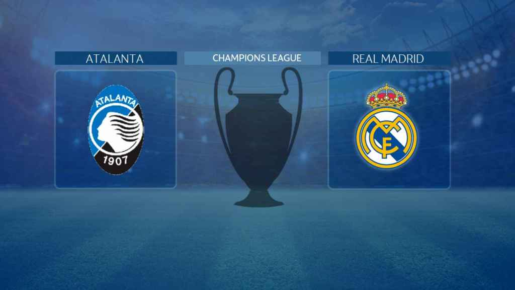 Cruce entre el Atalanta y el Real Madrid